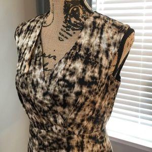 Ann Taylor Silk Blend Sheath Dress